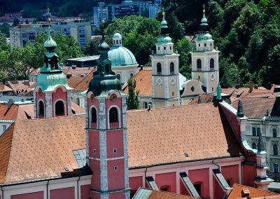 Ljubljana Churches