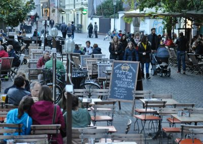 Coffee and beer culture in Ljubljana is rich