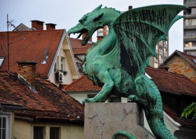 Dragon, a symbol of Ljubjana