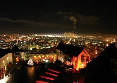 Ljubljana Castle Christmas view