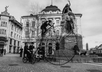 Preseren Square back in time
